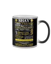 Shay - Sweet Heart And Warrior Color Changing Mug thumbnail