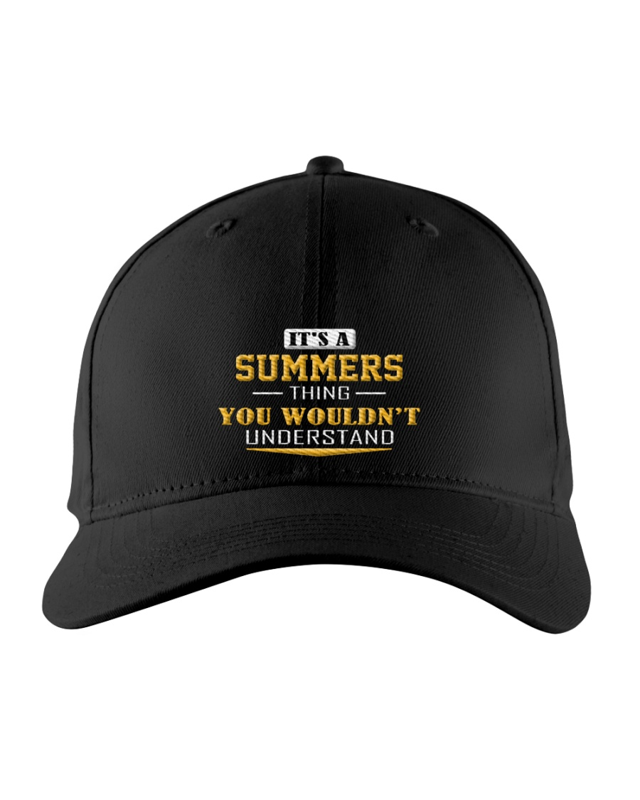 SUMMERS - Thing You Wouldnt Understand Embroidered Hat