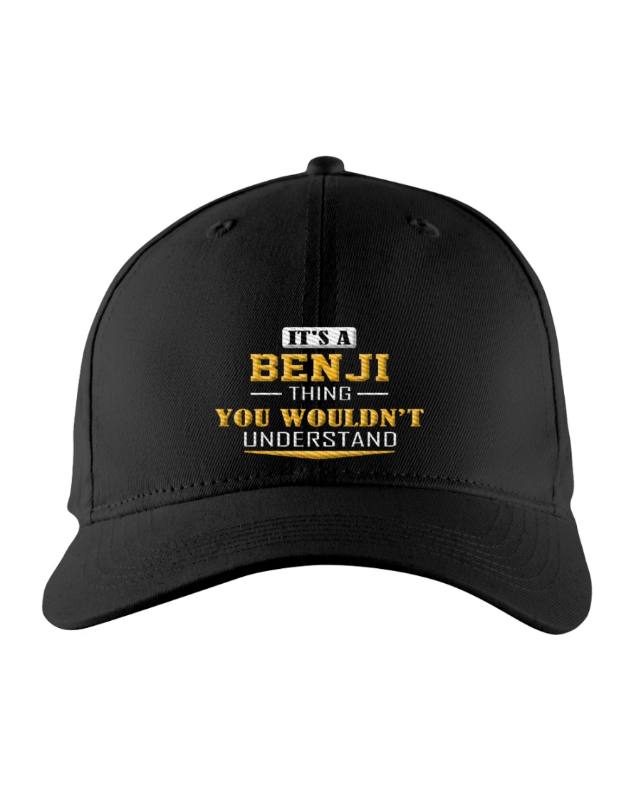 BENJI - THING YOU WOULDNT UNDERSTAND Embroidered Hat
