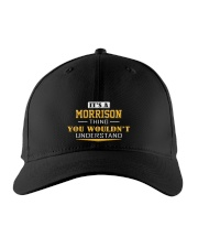 MORRISON - Thing You Wouldnt Understand Embroidered Hat front