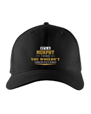 MURPHY - Thing You Wouldn't Understand Embroidered Hat front