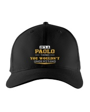PAOLO - THING YOU WOULDNT UNDERSTAND Embroidered Hat front