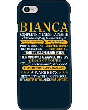 BIANCA - COMPLETELY UNEXPLAINABLE Phone Case thumbnail