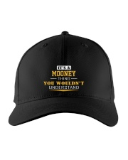 MOONEY - Thing You Wouldnt Understand Embroidered Hat front