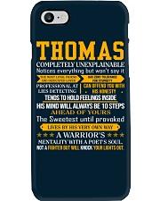 Thomas - Completely Unexplainable Phone Case thumbnail