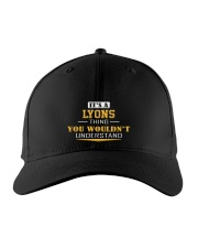 LYONS - Thing You Wouldnt Understand Embroidered Hat front