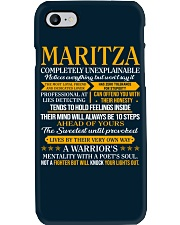 MARITZA - COMPLETELY UNEXPLAINABLE Phone Case thumbnail
