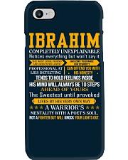 Ibrahim - Completely Unexplainable Phone Case thumbnail