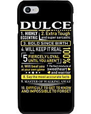 Dulce - Sweet Heart And Warrior Phone Case thumbnail