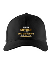 SNYDER - Thing You Wouldnt Understand Embroidered Hat front