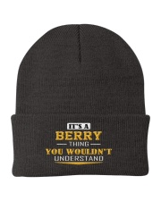 BERRY - Thing You Wouldnt Understand Knit Beanie thumbnail