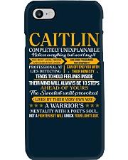 Caitlin - Completely Unexplainable Phone Case thumbnail