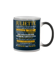 JULIETTE - COMPLETELY UNEXPLAINABLE Color Changing Mug tile