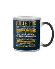 JULIETTE - COMPLETELY UNEXPLAINABLE Color Changing Mug thumbnail