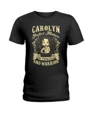 PRINCESS AND WARRIOR - CAROLYN Ladies T-Shirt front