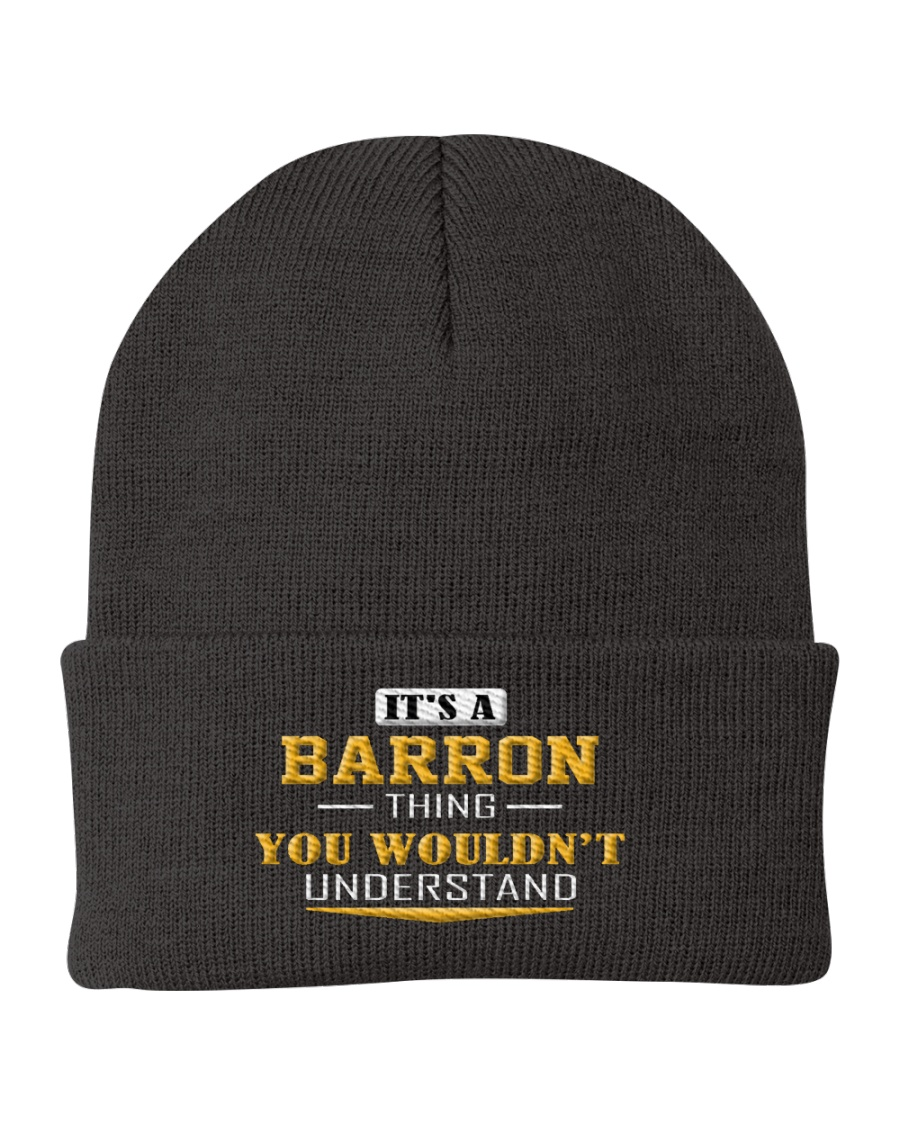 BARRON - Thing You Wouldnt Understand Knit Beanie