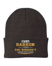 BARRON - Thing You Wouldnt Understand Knit Beanie front