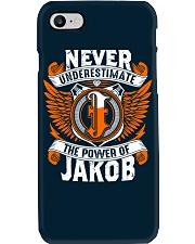 NEVER UNDERESTIMATE THE POWER OF JAKOB Phone Case thumbnail
