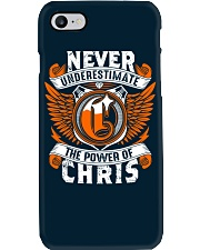 NEVER UNDERESTIMATE THE POWER OF CHRIS Phone Case thumbnail