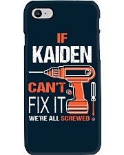 If Kaiden Cant Fix It - We Are All Screwed Phone Case thumbnail