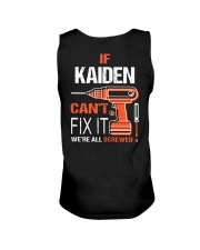 If Kaiden Cant Fix It - We Are All Screwed Unisex Tank thumbnail