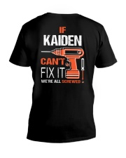 If Kaiden Cant Fix It - We Are All Screwed V-Neck T-Shirt thumbnail