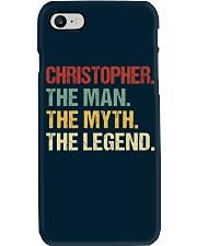 THE LEGEND - Christopher Phone Case thumbnail