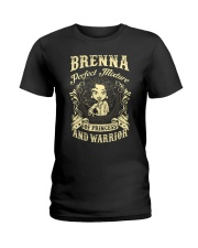 PRINCESS AND WARRIOR - Brenna Ladies T-Shirt front