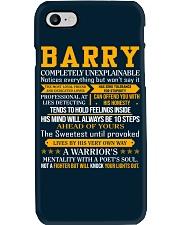 Barry - Completely Unexplainable Phone Case thumbnail