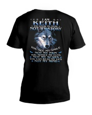 Keith - You dont know my story V-Neck T-Shirt thumbnail