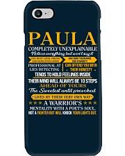 PAULA - COMPLETELY UNEXPLAINABLE Phone Case thumbnail