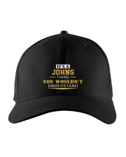 JOHNS - Thing You Wouldnt Understand Embroidered Hat front