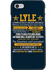 Lyle - Completely Unexplainable Phone Case thumbnail
