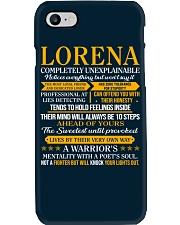 LORENA - COMPLETELY UNEXPLAINABLE Phone Case thumbnail