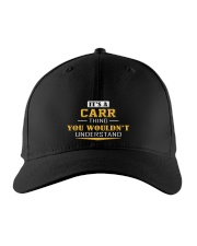 CARR - Thing You Wouldnt Understand Embroidered Hat front