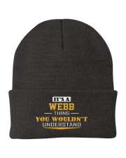 WEBB - Thing You Wouldn't Understand Knit Beanie thumbnail