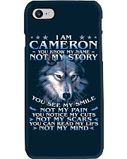 Cameron - You dont know my story Phone Case thumbnail