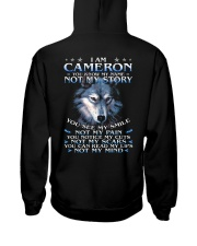Cameron - You dont know my story Hooded Sweatshirt thumbnail
