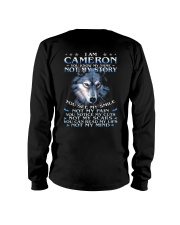 Cameron - You dont know my story Long Sleeve Tee thumbnail