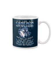 Cameron - You dont know my story Mug thumbnail