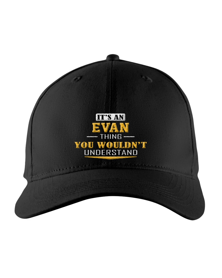 EVAN - THING YOU WOULDNT UNDERSTAND Embroidered Hat
