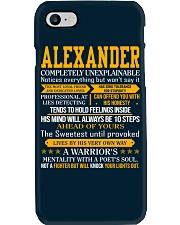 Alexander - Completely Unexplainable Phone Case thumbnail