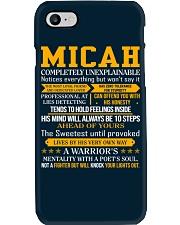 Micah - Completely Unexplainable Phone Case thumbnail