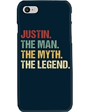 THE LEGEND - Justin Phone Case thumbnail