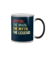 THE LEGEND - Justin Color Changing Mug thumbnail