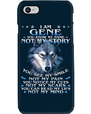Gene - You dont know my story Phone Case thumbnail