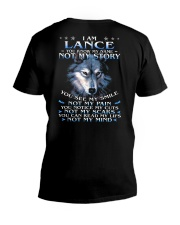 Lance - You dont know my story V-Neck T-Shirt thumbnail