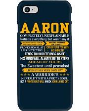 Aaron - Completely Unexplainable Phone Case thumbnail