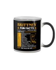 Brittney Fun Facts Color Changing Mug thumbnail