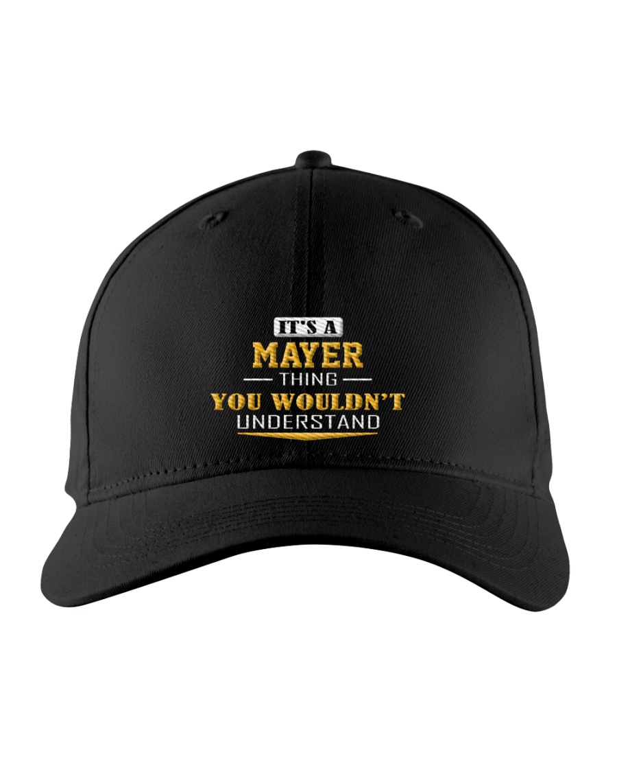 MAYER - Thing You Wouldnt Understand Embroidered Hat